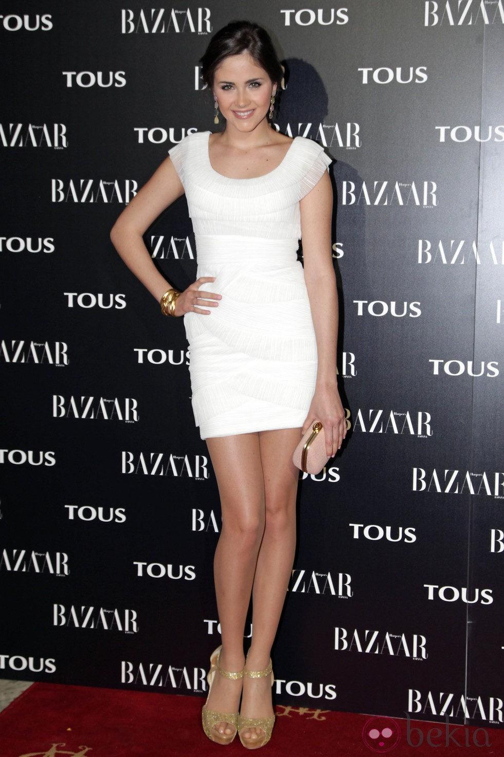Lucía Ramos en la fiesta organizada por Tous y Harper's Bazaar