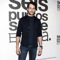 Alejandro Albarracín en el estreno de 'Seis puntos sobre Emma'