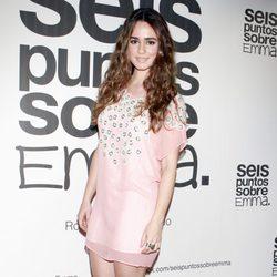 Alicia Sanz en el estreno de 'Seis puntos sobre Emma'