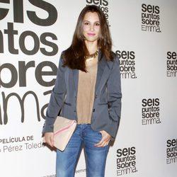 Xenia Tostado en el estreno de 'Seis puntos sobre Emma'