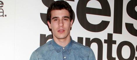 Javier Calvo en el estreno de 'Seis puntos sobre Emma'