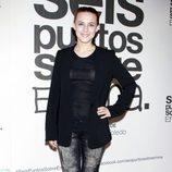 Aura Garrido en el estreno de 'Seis puntos sobre Emma'