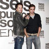 Fernando Andina y Nacho López en el estreno de 'Seis puntos sobre Emma'