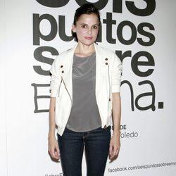 Elena Anaya en el estreno de 'Seis puntos sobre Emma'