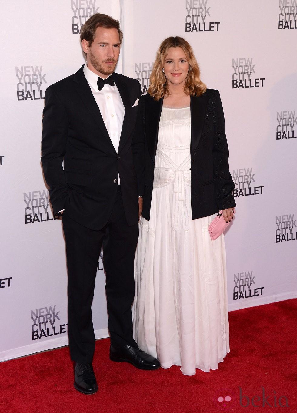 Drew Barrymore y Will Kopelman en la Gala de Primavera del Ballet de Nueva York