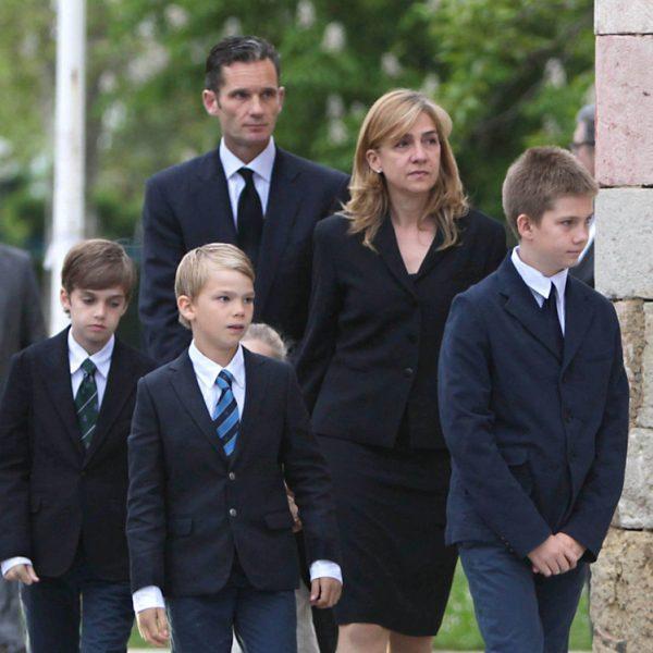 Funeral de Juan Mari Urdangarín, padre de Iñaki Urdangarín