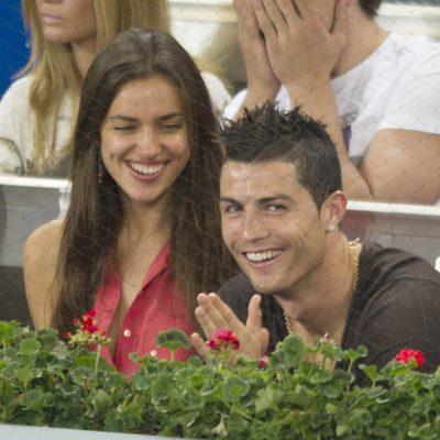 Irina Shayk y Cristiano Ronaldo en el Masters 1000 de Madrid 2012 2e010d0729860