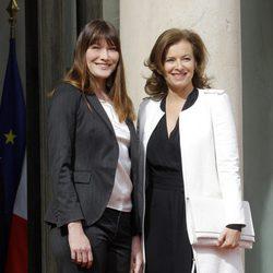 Valérie Trierweiler releva a Carla Bruni como Primera Dama de Francia