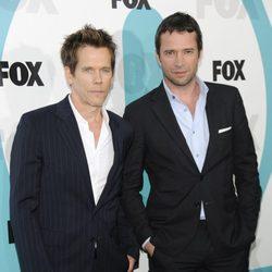 Kevin Bacon y James Purefoy en los Upfronts de Fox 2012