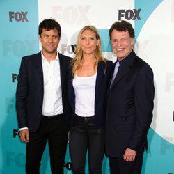 Joshua Jackson, Anna Torv y John Noble en los Upfronts de Fox 2012