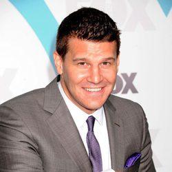 David Boreanaz en los Upfronts de Fox 2012