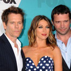 Kevin Bacon, Natalie Zea y James Purefoy en los Upfronts de Fox 2012