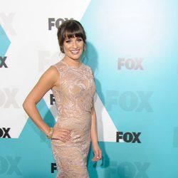 Lea Michele en los Upfronts de Fox 2012