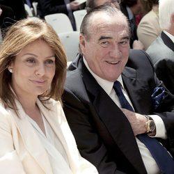 Nuria González y Fernando Fernández Tapias en la entrega de las Medallas de Oro de Madrid 2012