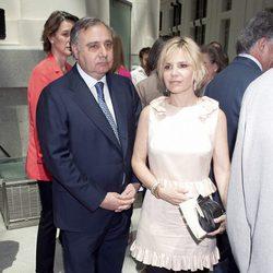 Fernando y Eugenia Martínez de Irujo en la entrega de las Medallas de Oro de Madrid 2012