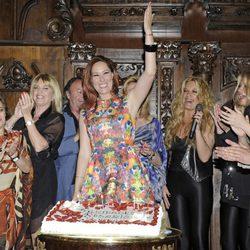 Chayo Mohedano celebra su 33 cumpleaños con amigos y familiares