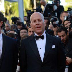 Bruce Willis en la apertura del Festival de Cannes 2012