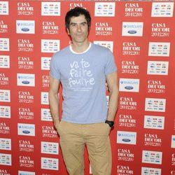 Jorge Fernandez asistió al evento Casa Decor 2012