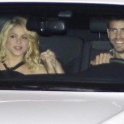 Shakira y Gerard Piqué en una cena-homenaje a Pep Guardiola