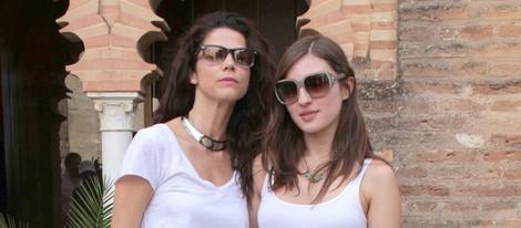Juana Acosta y María Valverde en la presentación de 'Libertador'