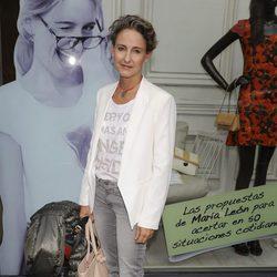 Carla Royo Villanova en la presentación del libro de María León