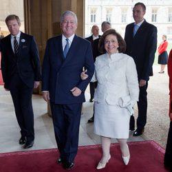 Los Príncipes de Yugoslavia en Windsor
