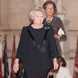 La Reina Beatriz de Holanda en Windsor