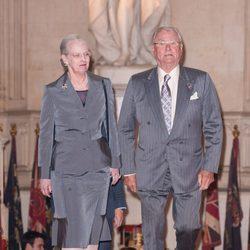 La Reina y el Príncipe de Dinamarca en Windsor