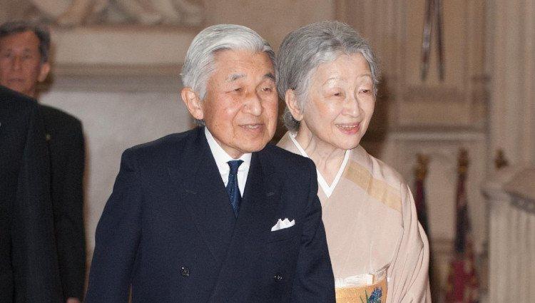 Los Emperadores de Japón en Windsor