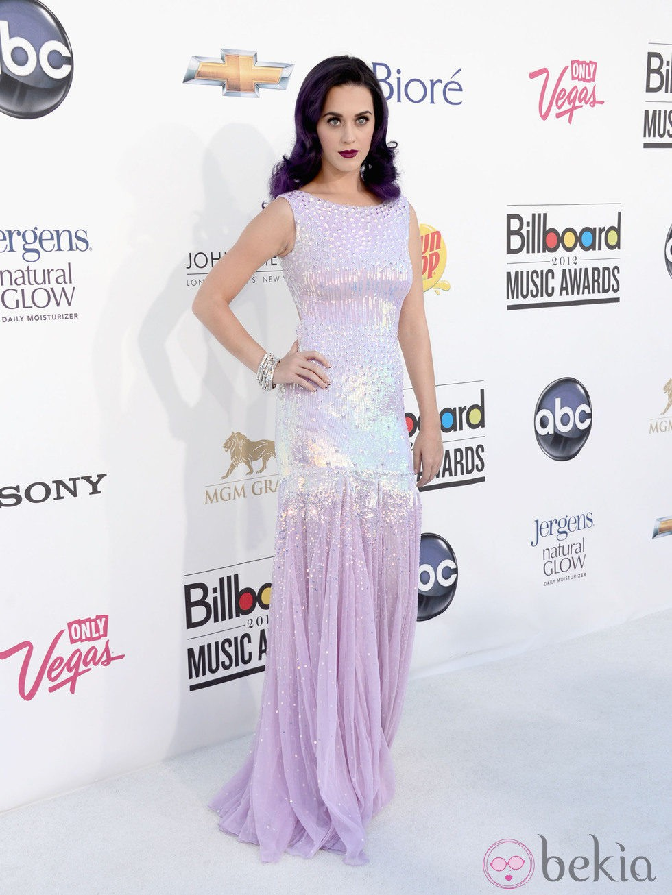 Katy Perry, gala premios Billboard 2012