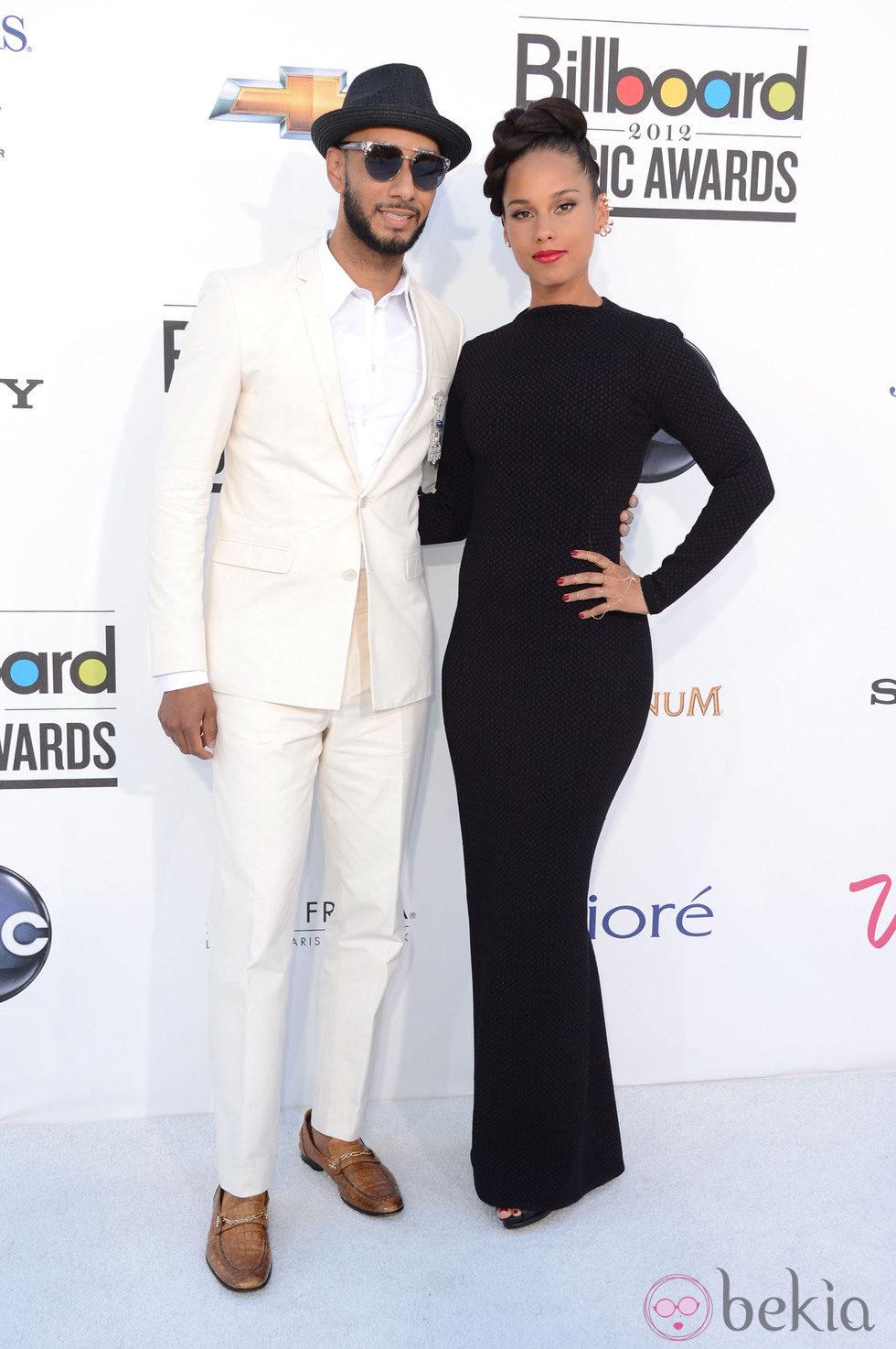 Alicia Keys y Swizz Beatz en los Billboard 2012