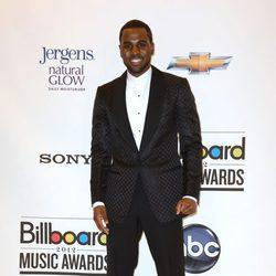 El cantante Jason Derulo en la entrega de premios Billboard 2012