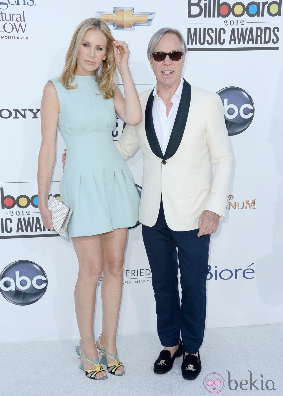 Dee Hilfiger y Tommy Hilfiger en la gala Billboard Awards 2012