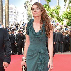 Carlota Casiraghi en el estreno de 'Madagascar 3' en el Festival de Cannes 2012
