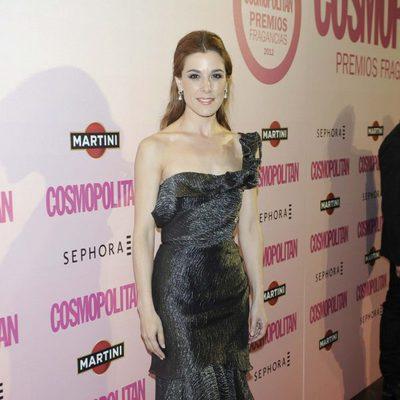 Raquel Sánchez Silva en los Premios Fragancias Cosmopolitan 2012