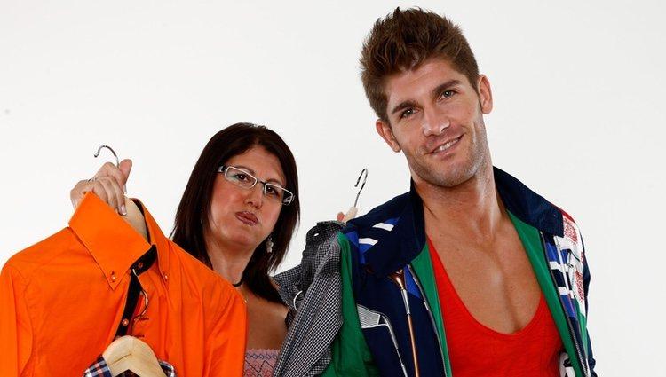 Rubén Poveda, concursante de '¿Quién quiere casarse con mi hijo?', y su madre Rosi