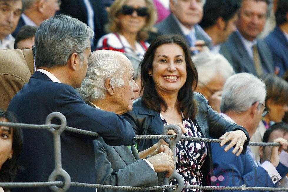 Carmen Martínez-Bordiú en una corrida de toros de San Isidro 2012