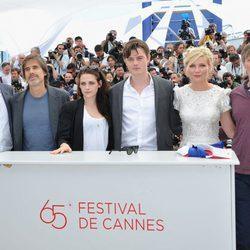 El equipo de la película 'On the Road' en el Festival de Cannes