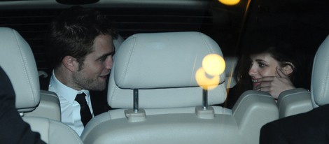 Robert Pattinson y Kristen Stewart en Cannes 2012