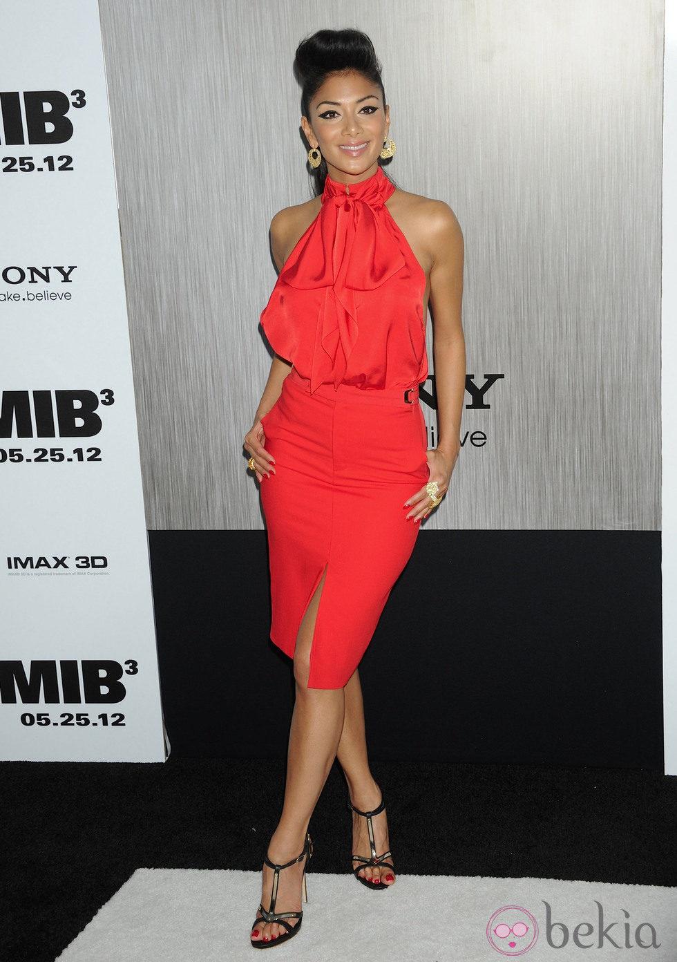 Nicole Scherzinger en la premiere de 'Men In Black 3' en Nueva York