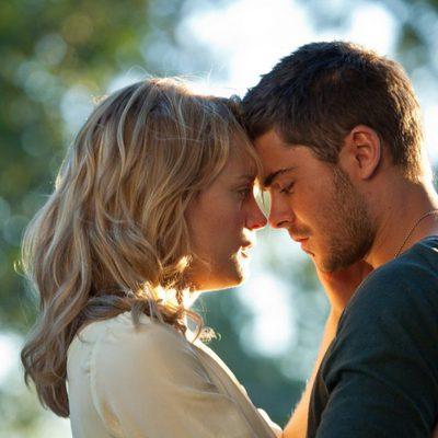 Zac Efron y Taylor Schilling en la película 'Cuando te encuentre'