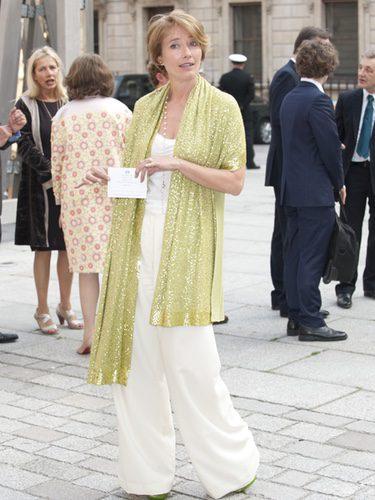 Emma Thompson en un homenaje a Isabel II en la Academia de las Artes