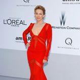 Kylie Minogue en la gala amfAR celebrada en el Festival de Cannes 2012