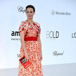 Bèrenice Bejo en la gala amfAR del Festival de Cannes 2012