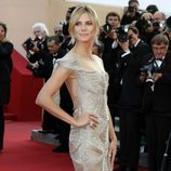 Heidi Klum en el estreno de 'Paperboy' en el Festival de Cannes 2012
