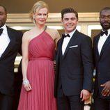 Nicole Kidman y Zac Efron en el estreno de 'Paperboy' en el Festival de Cannes 2012