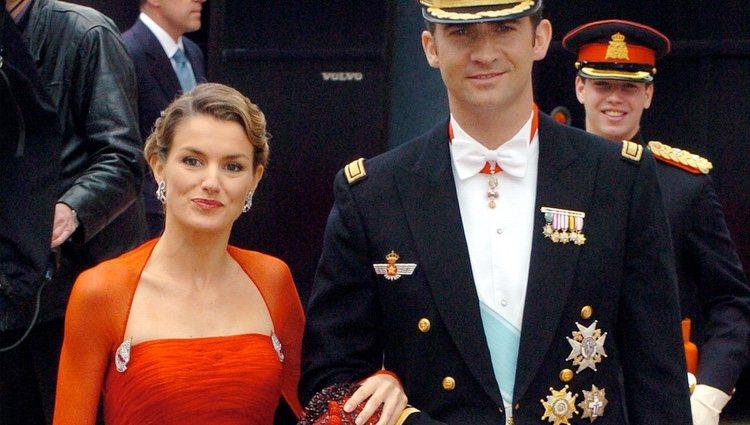 El Príncipe Felipe y Doña Letizia en la boda de Federico y Mary de Dinamarca