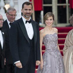 Los Príncipes de Asturias en la boda de los Duques de Cambridge