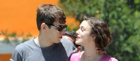 Keira Knightley y James Righton en el rodaje de 'Seeking a friend for the end of the world'