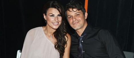 Alejandro Sanz y Raquel Perera